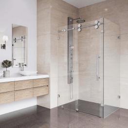 Vách kính nhà tắm đứng